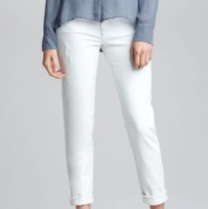 Vince 5 Pocket Relaxed Rolled Jeans